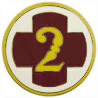 Vanguard ARMY COMBAT SERVICE IDENTIFICATION BADGE (CSIB): 2ND MEDICAL BRIGADE