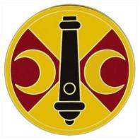 Vanguard ARMY COMBAT SERVICE IDENTIFICATION BADGE (CSIB): 210TH FIRES BRIGADE