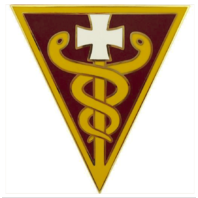 Vanguard ARMY COMBAT SERVICE IDENTIFICATION BADGE (CSIB): 3RD MEDICAL COMMAND