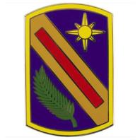Vanguard ARMY COMBAT SERVICE IDENTIFICATION BADGE CSIB 321ST SUSTAINMENT BRIGADE