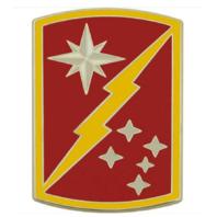 Vanguard ARMY COMBAT SERVICE IDENTIFICATION BADGE (CSIB): 45TH SUSTAINMENT BRIGADE