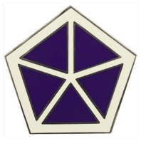 Vanguard ARMY COMBAT SERVICE IDENTIFICATION BADGE (CSIB): V CORPS