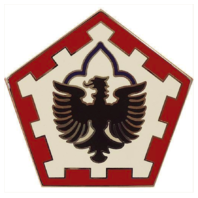 Vanguard ARMY COMBAT SERVICE IDENTIFICATION BADGE (CSIB): 555TH ENGINEER BRIGADE