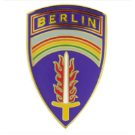 Vanguard ARMY COMBAT SERVICE IDENTIFICATION BADGE (CSIB): US ARMY BERLIN COMMAND