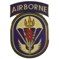 Vanguard ARMY COMBAT SERVICE ID BADGE (CSIB): SPECIAL OPERATIONS COMMAND SOUTH
