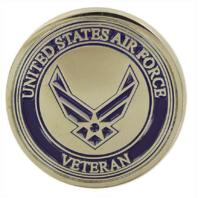 Vanguard LAPEL PIN: AIR FORCE VETERAN