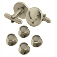 Vanguard AIR FORCE CUFF LINKS AND STUDS: EAGLE DEVICE