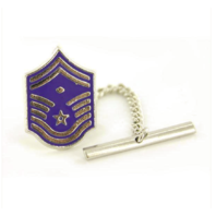 Vanguard AIR FORCE TIE TAC: MASTER SERGEANT: FIRST SERGEANT: SENIOR