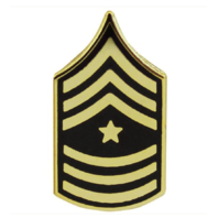 Vanguard ARMY TIE TAC: SERGEANT MAJOR