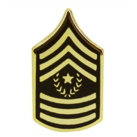 Vanguard ARMY TIE TAC: COMMAND SERGEANT MAJOR