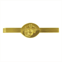 Vanguard MARINE CORPS TIE CLASP: ENLISTED - 24K GOLD PLATED