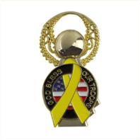 Vanguard LAPEL PIN: GOD BLESS OUR TROOPS