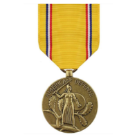 Vanguard FULL SIZE MEDAL AMERICAN DEFENSE SERVICE
