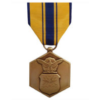 Vanguard Full Size US Air Force USAF Commendation Medal Award