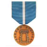 Vanguard FULL SIZE MEDAL: KOREAN SERVICE