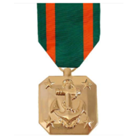 Vanguard FULL SIZE MEDAL NAVY ACHIEVEMENT - 24K GOLD PLATED