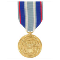 Vanguard FULL SIZE MEDAL AIR FORCE AIR AND SPACE CAMPAIGN - 24K GOLD PLATED