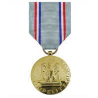 Vanguard FULL SIZE MEDAL AIR FORCE GOOD CONDUCT - 24K GOLD PLATED