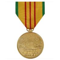 Vanguard FULL SIZE MEDAL VIETNAM SERVICE - 24K GOLD PLATED