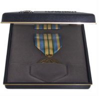 Vanguard Military Outstanding Volunteer Service Medal Presentation Set
