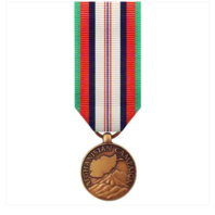 Vanguard (Mini) Miniature Afghanistan Campaign Military Award Medal