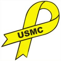 Vanguard MARINE CORPS MAGNET: USMC RIBBON