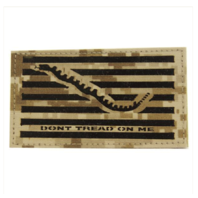 Vanguard FLAG PATCH: DON'T TREAD ON ME - DESERT DIGITAL
