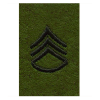Vanguard ARMY LEADERSHIP RANK TAB: STAFF SERGEANT