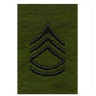 Vanguard ARMY LEADERSHIP RANK TAB: SERGEANT FIRST CLASS