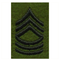 Vanguard ARMY LEADERSHIP RANK TAB: MASTER SERGEANT