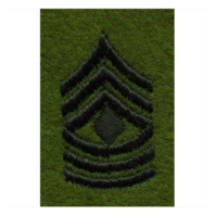 Vanguard ARMY LEADERSHIP RANK TAB: FIRST SERGEANT