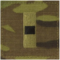 Vanguard ARMY EMBROIDERED OCP WITH HOOK RANK INSIGNIA: WARRANT OFFICER 1