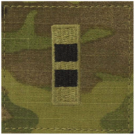 Vanguard ARMY EMBROIDERED OCP WITH HOOK RANK INSIGNIA: WARRANT OFFICER 2