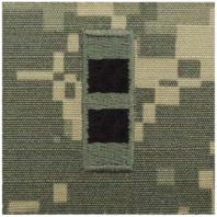 Vanguard ARMY EMBROIDERED ACU SEW ON RANK INSIGNIA: WARRANT OFFICER 2