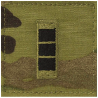 Vanguard ARMY EMBROIDERED OCP WITH HOOK RANK INSIGNIA: WARRANT OFFICER 3