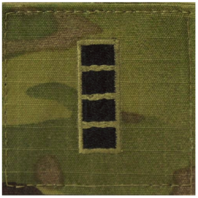 Vanguard ARMY EMBROIDERED OCP WITH HOOK RANK INSIGNIA: WARRANT OFFICER 4