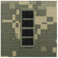 Vanguard ARMY EMBROIDERED ACU SEW ON RANK INSIGNIA: WARRANT OFFICER 4