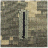 Vanguard ARMY EMBROIDERED ACU SEW ON RANK INSIGNIA: WARRANT OFFICER 5