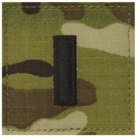 Vanguard ARMY AND AIR FORCE EMBROIDERED OCP WITH HOOK OFFICER RANK INSIGNIA: FIRST LIEUTENANT