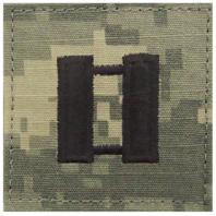 Vanguard ARMY EMBROIDERED ACU RANK INSIGNIA: CAPTAIN