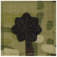 Vanguard ARMY/AIR FORCE EMBROIDERED OCP W/ HOOK OFFICER RANK INSIGNIA: LIEUTENANT COLONEL