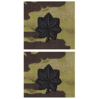 Vanguard ARMY AND AIR FORCE EMBROIDERED OCP SEW ON OFFICER RANK INSIGNIA: LIEUTENANT COLONEL