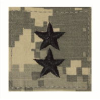 Vanguard ARMY EMBROIDERED ACU RANK INSIGNIA: MAJOR GENERAL