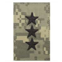 Vanguard ARMY EMBROIDERED ACU RANK INSIGNIA: LIEUTENANT GENERAL