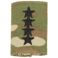 Vanguard ARMY GORTEX RANK: GENERAL (4-STAR) - OCP JACKET TAB