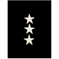 Vanguard MARINE CORPS EMBROIDERED RANK: LIEUTENANT GENERAL