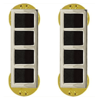 Vanguard ARMY RANK INSIGNIA: WARRANT OFFICER 4 - NICKEL PLATED