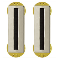 Vanguard ARMY RANK INSIGNIA: WARRANT OFFICER 5 - NICKEL PLATED