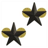 Vanguard AIR FORCE GENERAL STARS: BRIGADIER GENERAL - BLACK METAL
