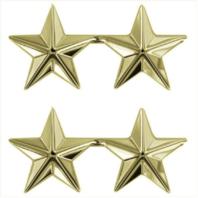 Vanguard GOLD STARS: 2 STAR CLUTCH BACK